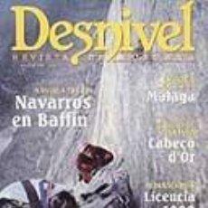 Coleccionismo deportivo: REVISTA DESNIVEL Nª 148 FEBRERO 1999. MALAGA. Lote 68707541