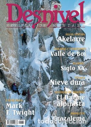 Revista DESNIVEL nº 169 ENERO 2000. VALLE DE BOI, EL DUQUE ALPINISTA, GRAZALEMA, MARK F. TWINGHT segunda mano