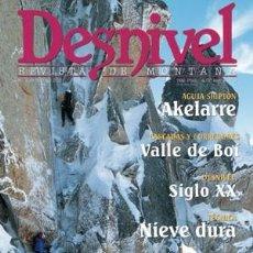 Coleccionismo deportivo: REVISTA DESNIVEL Nº 169 ENERO 2000. VALLE DE BOI, EL DUQUE ALPINISTA, GRAZALEMA, MARK F. TWINGHT . Lote 68942433