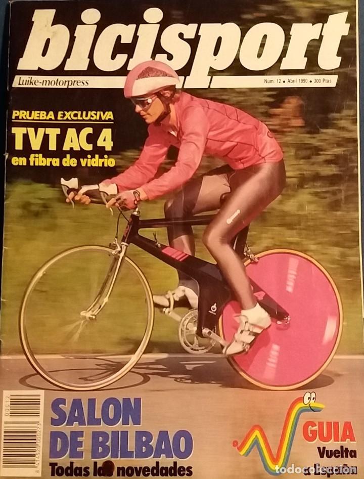 REVISTA BICISPORT Nº 12 ABRIL 1990. GUIA VUELTA A ESPAÑA (Coleccionismo Deportivo - Revistas y Periódicos - otros Deportes)