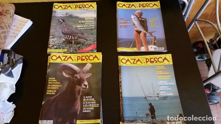 LOTE DE REVISTAS DE CAZA Y PESCA. (Coleccionismo Deportivo - Revistas y Periódicos - otros Deportes)