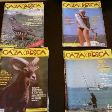 Coleccionismo deportivo: LOTE DE REVISTAS DE CAZA Y PESCA.. Lote 69264533