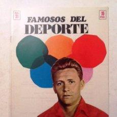 Coleccionismo deportivo: MOLOWNY FAMOSOS DEL DEPORTE NUM 21. Lote 70007477
