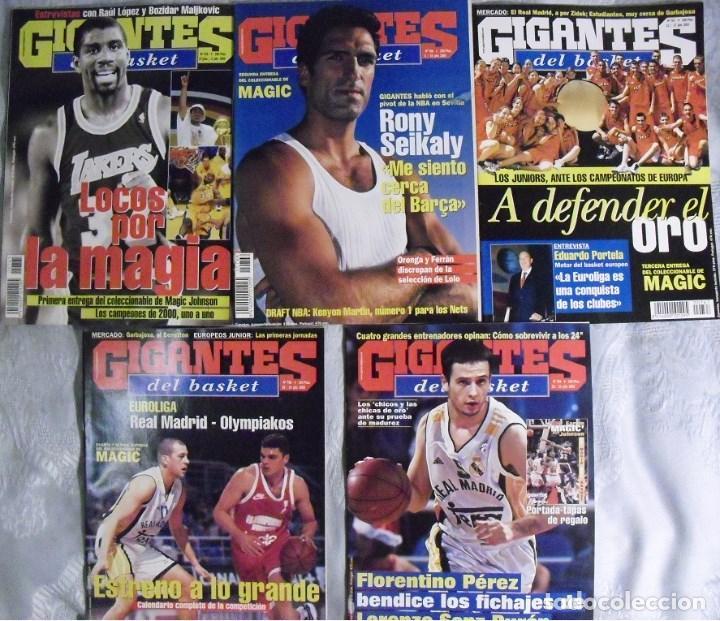 COLECCIONABLE DE MAGIC JOHNSON (2000) - REVISTAS ''GIGANTES DEL BASKET'' - NBA (Coleccionismo Deportivo - Revistas y Periódicos - otros Deportes)