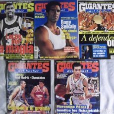 Coleccionismo deportivo: COLECCIONABLE DE MAGIC JOHNSON (2000) - REVISTAS ''GIGANTES DEL BASKET'' - NBA. Lote 70591701