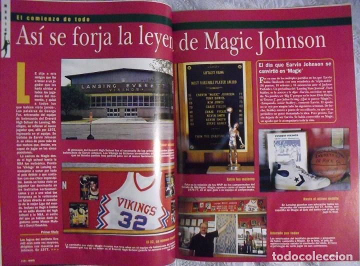 Coleccionismo deportivo: Coleccionable de Magic Johnson (2000) - Revistas ''Gigantes del Basket'' - NBA - Foto 2 - 70591701