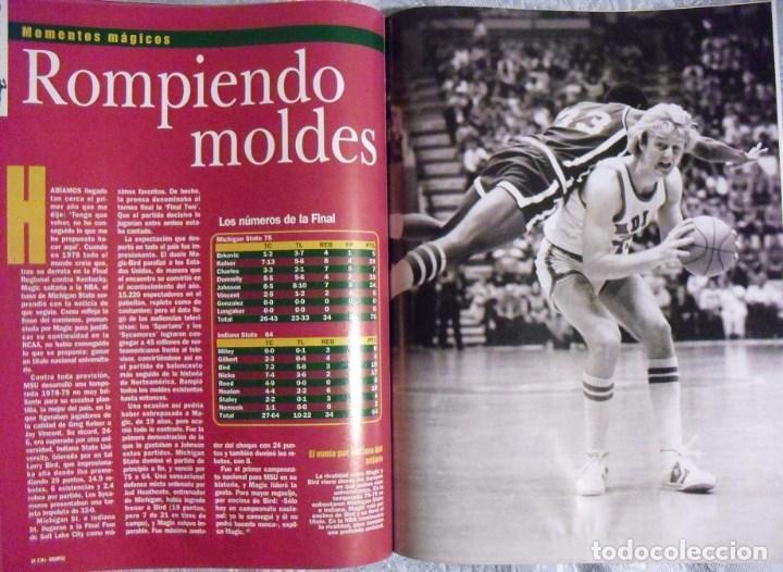 Coleccionismo deportivo: Coleccionable de Magic Johnson (2000) - Revistas ''Gigantes del Basket'' - NBA - Foto 4 - 70591701