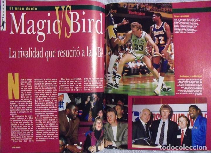 Coleccionismo deportivo: Coleccionable de Magic Johnson (2000) - Revistas ''Gigantes del Basket'' - NBA - Foto 5 - 70591701
