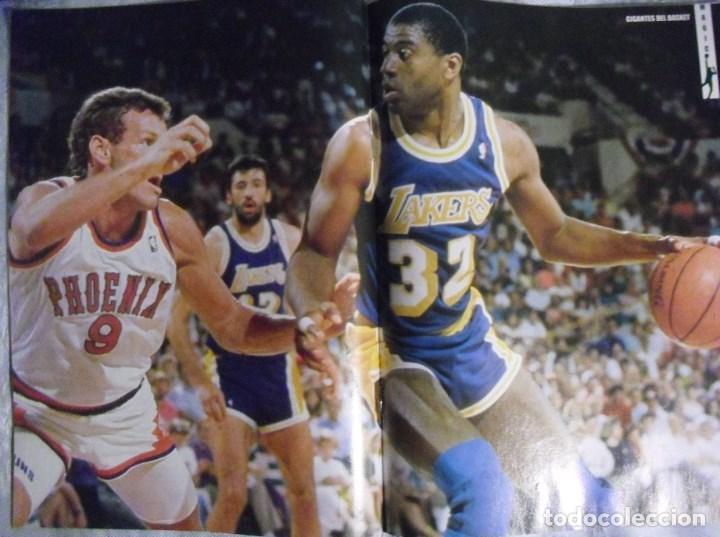 Coleccionismo deportivo: Coleccionable de Magic Johnson (2000) - Revistas ''Gigantes del Basket'' - NBA - Foto 6 - 70591701