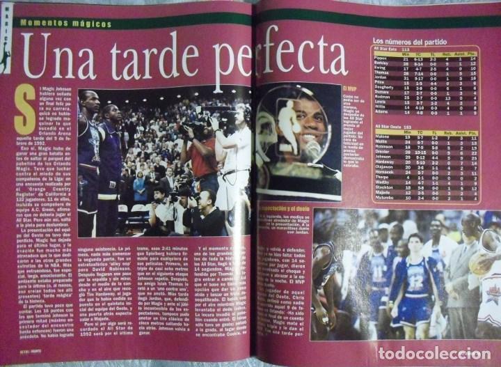Coleccionismo deportivo: Coleccionable de Magic Johnson (2000) - Revistas ''Gigantes del Basket'' - NBA - Foto 10 - 70591701