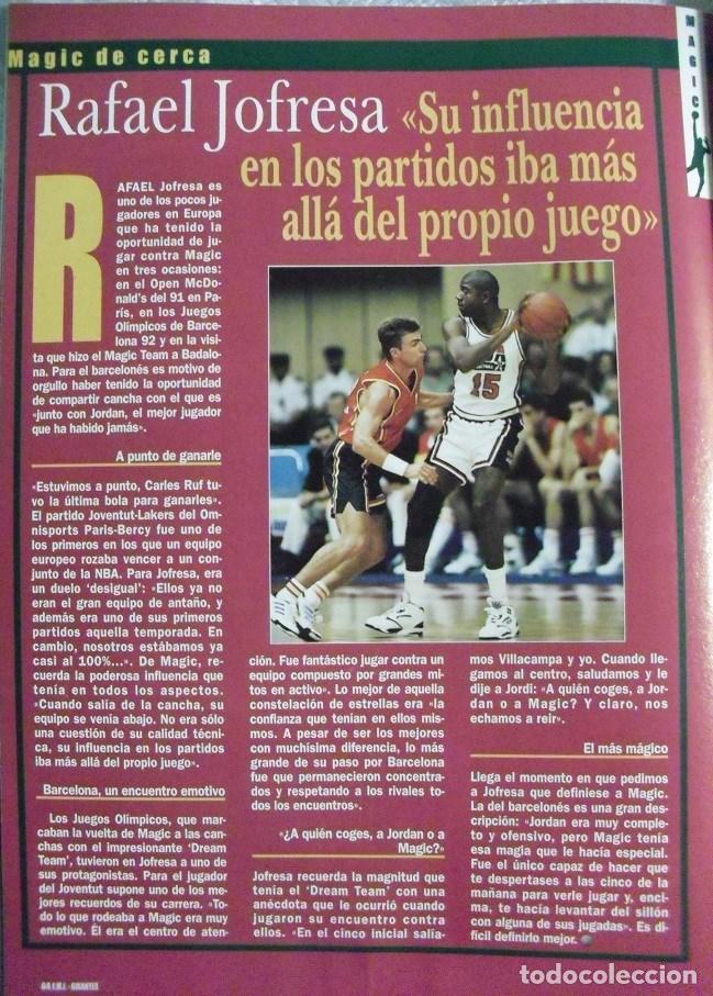 Coleccionismo deportivo: Coleccionable de Magic Johnson (2000) - Revistas ''Gigantes del Basket'' - NBA - Foto 11 - 70591701
