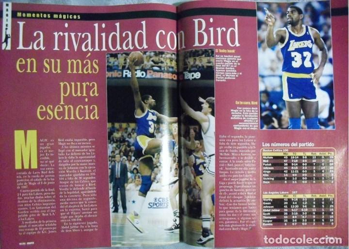 Coleccionismo deportivo: Coleccionable de Magic Johnson (2000) - Revistas ''Gigantes del Basket'' - NBA - Foto 12 - 70591701