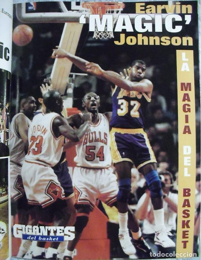 Coleccionismo deportivo: Coleccionable de Magic Johnson (2000) - Revistas ''Gigantes del Basket'' - NBA - Foto 13 - 70591701