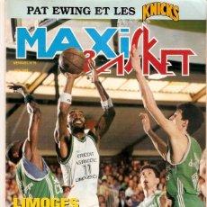 Coleccionismo deportivo: REVISTA BALONCESTO FRANCESA MAXI BASKET Nº 75 1989. Lote 71239611