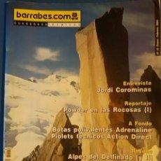 Coleccionismo deportivo: CUADERNOS TÉCNICOS BARRABES Nº 18 ENERO FEBRERO 2004. ENTREVISTA A JORDI COROMINAS, MONTAÑAS ROCOSAS. Lote 71462439