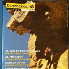 Coleccionismo deportivo: CUADERNOS TÉCNICOS BARRABES Nº 57 AGOSTO SEPTIEMBRE 2011. ESPOLONES:RABADÁ Y NAVARRO, ENTRENAMIENTO. Lote 71462759