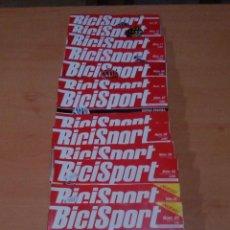 Coleccionismo deportivo: LOTE 13 PRIMERAS REVISTAS BICISPORT -LEER. Lote 71475155