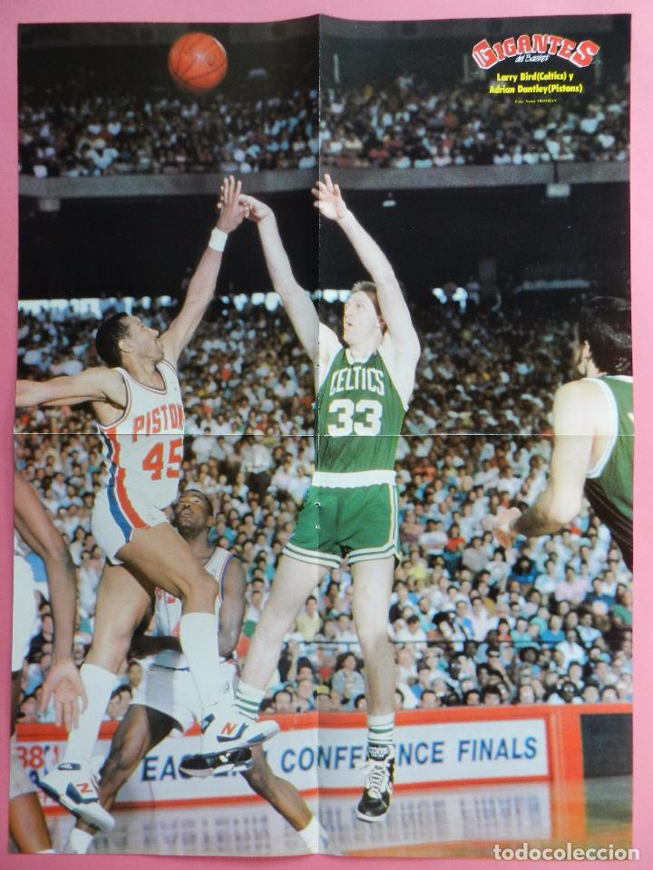 Coleccionismo deportivo: REVISTA GIGANTES DEL BASKET Nº 149 1988 POSTER GIGANTE LARRY BIRD CELTICS NBA-JJOO SEUL 88-SABONIS - Foto 3 - 72101983