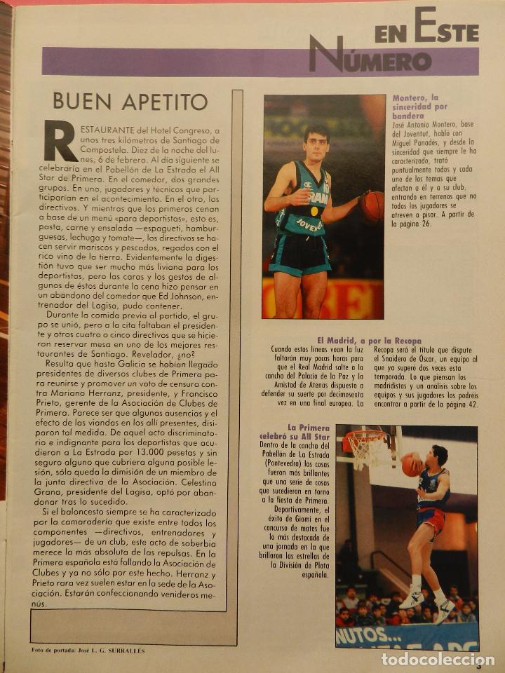 Coleccionismo deportivo: REVISTA GIGANTES DEL BASKET Nº 176 1989 POSTER CUMMINGS BUCKS NBA-MONTERO-FINAL RECOPA REAL MADRID - Foto 2 - 72102187