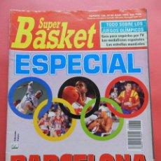 Coleccionismo deportivo: REVISTA SUPER BASKET Nº 138 1992 ESPECIAL JJOO BARCELONA 92-DREAM TEAM POSTER DREXLER-SUPERBASKET. Lote 72183739