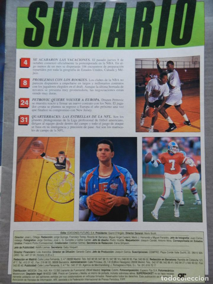 Coleccionismo deportivo: REVISTA SUPER BASKET Nº 147 1992 DRAZEN PETROVIC NETS-POSTER GS WARRIOSRS NBA-NFL-SUPERBASKET - Foto 2 - 72190715