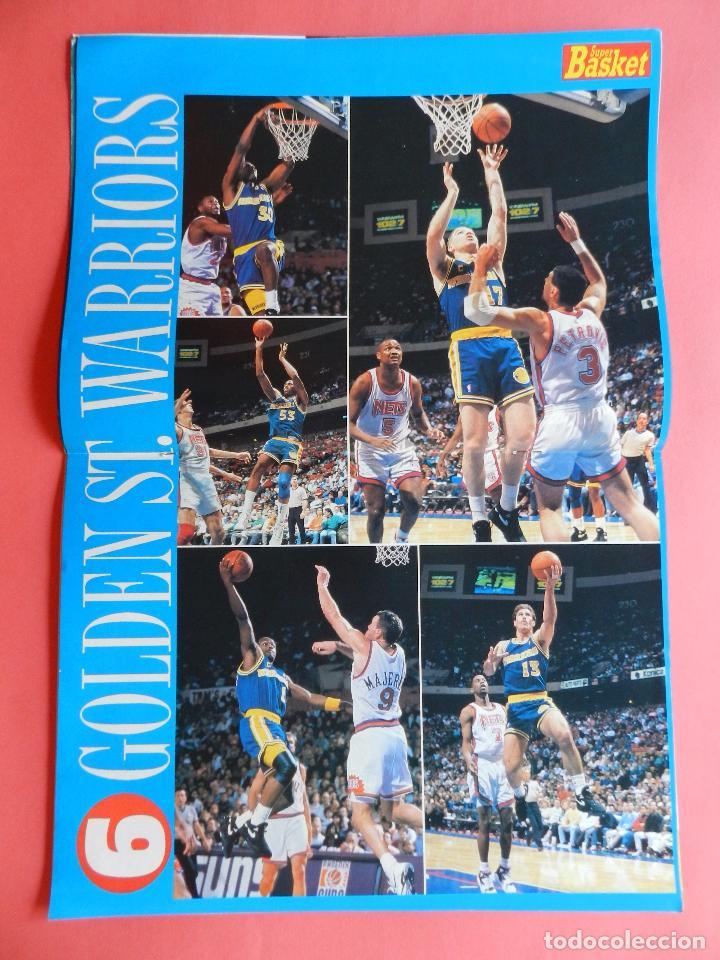 Coleccionismo deportivo: REVISTA SUPER BASKET Nº 147 1992 DRAZEN PETROVIC NETS-POSTER GS WARRIOSRS NBA-NFL-SUPERBASKET - Foto 4 - 72190715