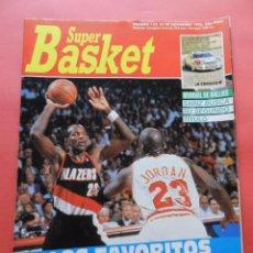 Coleccionismo deportivo: REVISTA SUPER BASKET Nº 152 1992 POSTER HOUSTON ROCKETS-DOMINIQUE WILKINS HAWKS NBA-SUPERBASKET. Lote 72190863