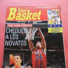 Coleccionismo deportivo: REVISTA SUPER BASKET Nº 156 1992 DRAZEN PETROVIC NETS-POSTER UTAH JAZZ NBA-NFL-SUPERBASKET. Lote 72190963