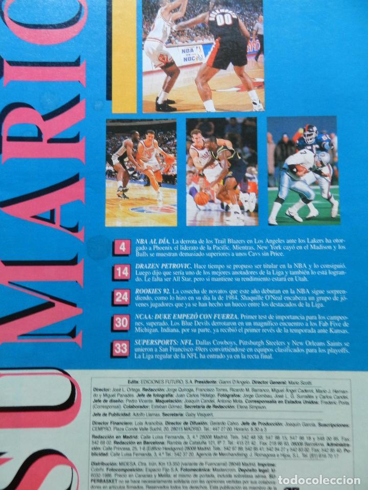Coleccionismo deportivo: REVISTA SUPER BASKET Nº 156 1992 DRAZEN PETROVIC NETS-POSTER UTAH JAZZ NBA-NFL-SUPERBASKET - Foto 2 - 72190963