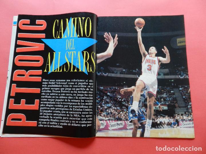 Coleccionismo deportivo: REVISTA SUPER BASKET Nº 156 1992 DRAZEN PETROVIC NETS-POSTER UTAH JAZZ NBA-NFL-SUPERBASKET - Foto 3 - 72190963