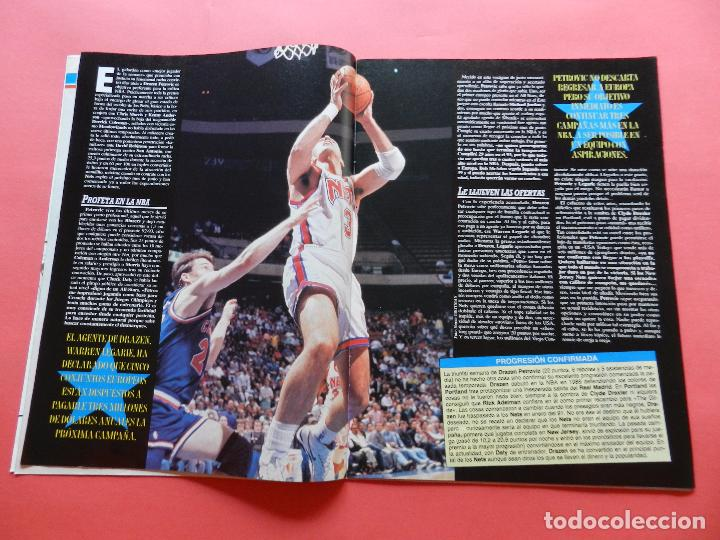 Coleccionismo deportivo: REVISTA SUPER BASKET Nº 156 1992 DRAZEN PETROVIC NETS-POSTER UTAH JAZZ NBA-NFL-SUPERBASKET - Foto 4 - 72190963