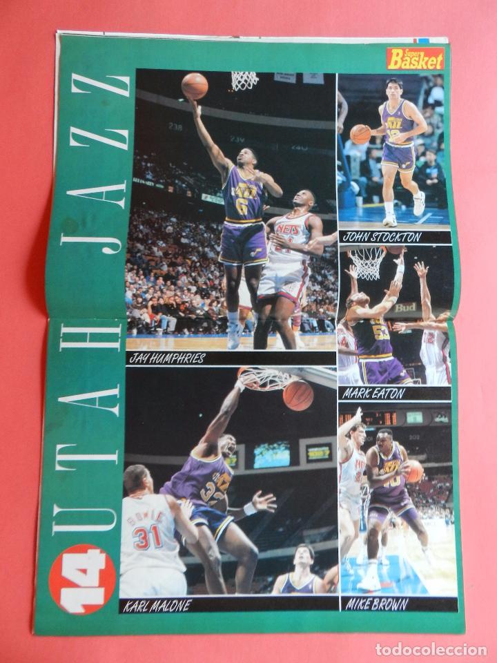 Coleccionismo deportivo: REVISTA SUPER BASKET Nº 156 1992 DRAZEN PETROVIC NETS-POSTER UTAH JAZZ NBA-NFL-SUPERBASKET - Foto 5 - 72190963