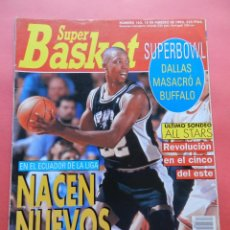 Coleccionismo deportivo: REVISTA SUPER BASKET Nº 163 1993 POSTER BOSTON CELTICS NBA-PETROVIC-SPURS-SUPERBOWL NFL-SUPERBASKET. Lote 72191103