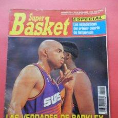 Coleccionismo deportivo: REVISTA SUPER BASKET Nº 203 1993 POSTER KENNY SMITH ROCKETS NBA-BARKLEY SUNS-SUPERBASKET. Lote 72194507
