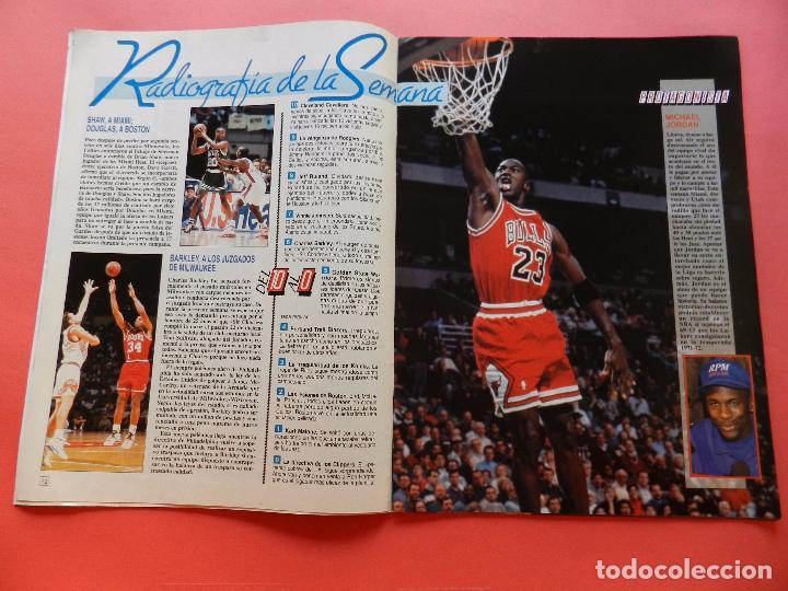 Coleccionismo deportivo: REVISTA SUPER BASKET Nº 111 1992 POSTER OLAJUWON ROCKETS-MICHAEL JORDAN BULLS NBA-SUPERBASKET - Foto 3 - 72210703