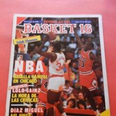 Coleccionismo deportivo: REVISTA Nº 17 ESTRELLAS DEL BASKET 16 1988 POSTER ISIAH THOMAS PISTONS NBA-JORDAN-DIAZ MIGUEL-SAINZ. Lote 72215711