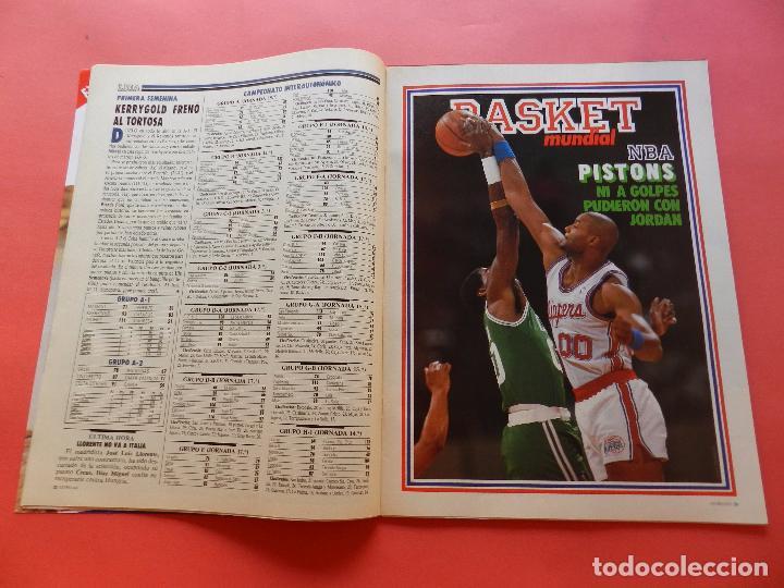 Coleccionismo deportivo: REVISTA Nº 17 ESTRELLAS DEL BASKET 16 1988 POSTER ISIAH THOMAS PISTONS NBA-JORDAN-DIAZ MIGUEL-SAINZ - Foto 2 - 72215711