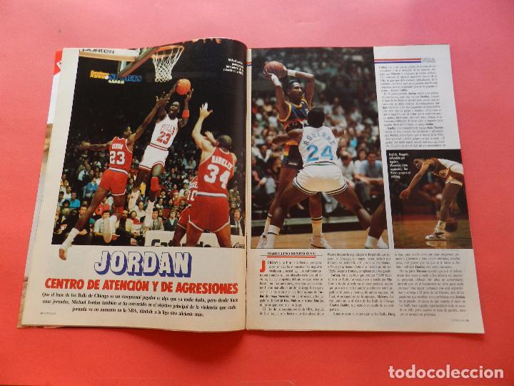 Coleccionismo deportivo: REVISTA Nº 17 ESTRELLAS DEL BASKET 16 1988 POSTER ISIAH THOMAS PISTONS NBA-JORDAN-DIAZ MIGUEL-SAINZ - Foto 3 - 72215711