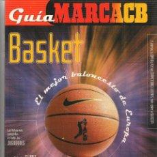 Coleccionismo deportivo: GUÍA MARCACB. BASKET. 2000. (Z/28). Lote 72644991