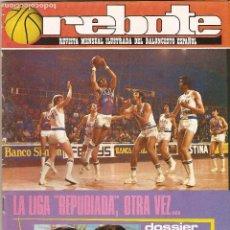 Coleccionismo deportivo: AMG-199_REVISTA DE BALONCESTO_REBOTE Nº177, 1976. Lote 74624023