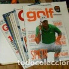Coleccionismo deportivo: LOTE DE 9 REVISTAS DE GOLF. Lote 74697491