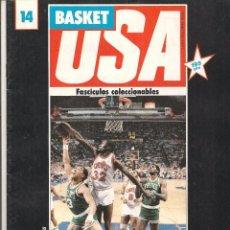 Coleccionismo deportivo: BASKET USA. FASCICULO Nº 14. (P/B10). Lote 74793939