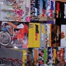 Coleccionismo deportivo: LOTE 18 REVISTAS PEDALIER PRO, BUEN ESTADO LAS PRIMERAS QUE SALIERON. Lote 71410663