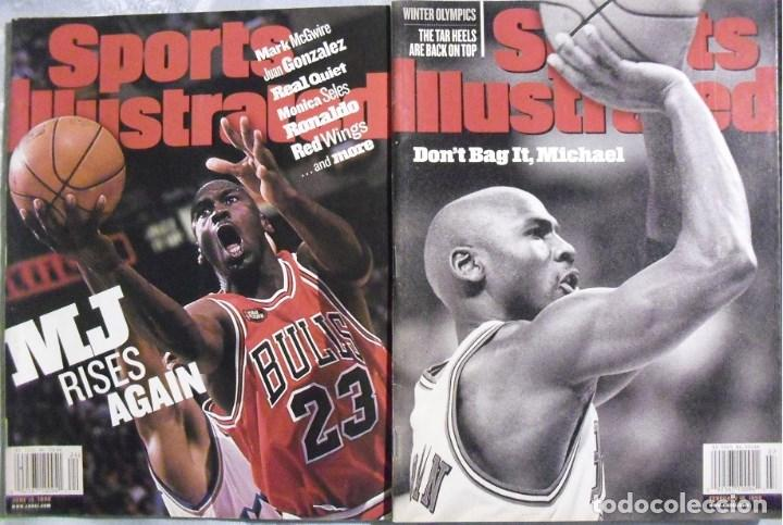 Coleccionismo deportivo: Michael Jordan & Chicago Bulls - Dos revistas Sports Illustrated de 1998 - NBA - Foto 1 - 76649359
