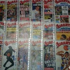 Coleccionismo deportivo: LOTE 33 REVISTAS GIGANTES DEL BASKET. Lote 78069118
