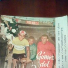 Coleccionismo deportivo: REVISTA CICLISMO SPRINT N'10 AGOSTO 1962- 6 PESETAS.. Lote 78273014