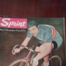 Coleccionismo deportivo: REVISTA CICLISMO SPRINT N'13 NOVIEMBRE 1962- 6 PESETAS.. Lote 78451859