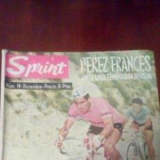 Coleccionismo deportivo: REVISTA CICLISMO SPRINT N'14 DICIEMBRE 1962-6 PESETAS. . Lote 78460029