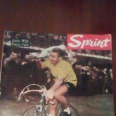 Coleccionismo deportivo: REVISTA CICLISMO SPRINT N'20 JACQUES ANQUETIL, JUNIO 1963- 7 PESETAS. . Lote 78462114