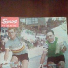 Coleccionismo deportivo: REVISTA CICLISMO SPRINT N'34 AGOSTO 1964-7 PESETAS. . Lote 78463598